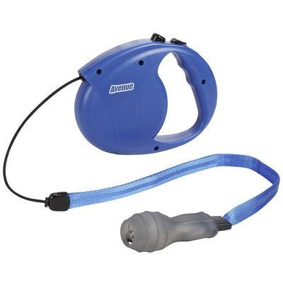 Avenue Retractable Cord Leash for Dogs - Blue