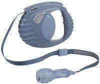 Hagen Avenue Retractable Tape Leash for Dogs - Blue