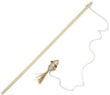 Hagen Catit Raffia Toy - Mouse on a Stick