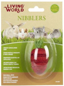 Hagen LW Nibblers Wood/Loofah Strawberry Small Pet Chew Toy