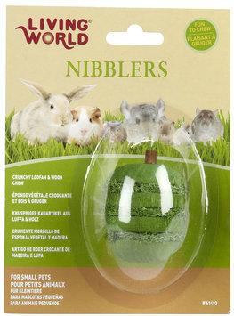 Hagen LW Nibblers Wood/Loofah Apple Small Pet Chew Toy
