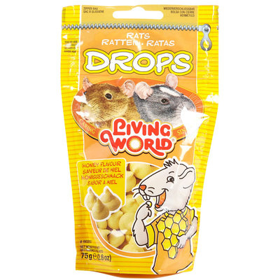 Living World Drops Rat Treat - Honey