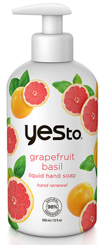 Yes To Grapefruit Basil Liquid Hand Soap