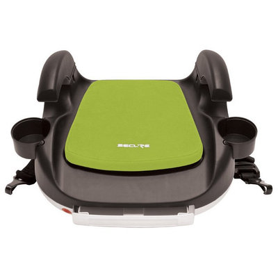 Secure RPM Deluxe Booster Car Seat - Black/Lime Green - 1 ct.