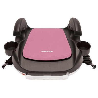 Secure RPM Deluxe Booster Car Seat - Black/Pink - 1 ct.
