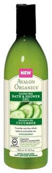 Avalon Organics - Bath & Shower Gel Gluten Free Cucumber Fragrance Free - 12 oz.