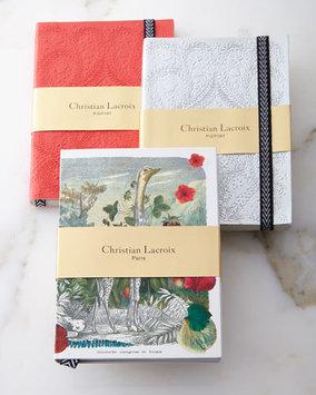 3-Piece Wild Nature Notebook Set - Christian Lacroix - Multi colors