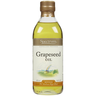 Spectrum Naturals Grapeseed Oil, 16 oz