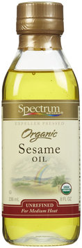 Spectrum Naturals Organic Unrefined Sesame Oil, 8 oz