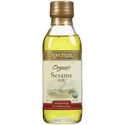 Spectrum Naturals Organic Unrefined Sesame Oil, 8 oz
