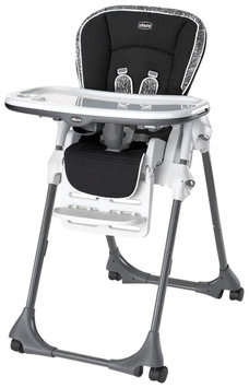 Chicco Vinyl Polly Highchair - Rainfall - 1 ct.