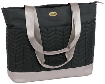 Chicco Chevron Tote Bag - Black