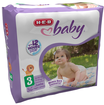 HEB Baby Diapers