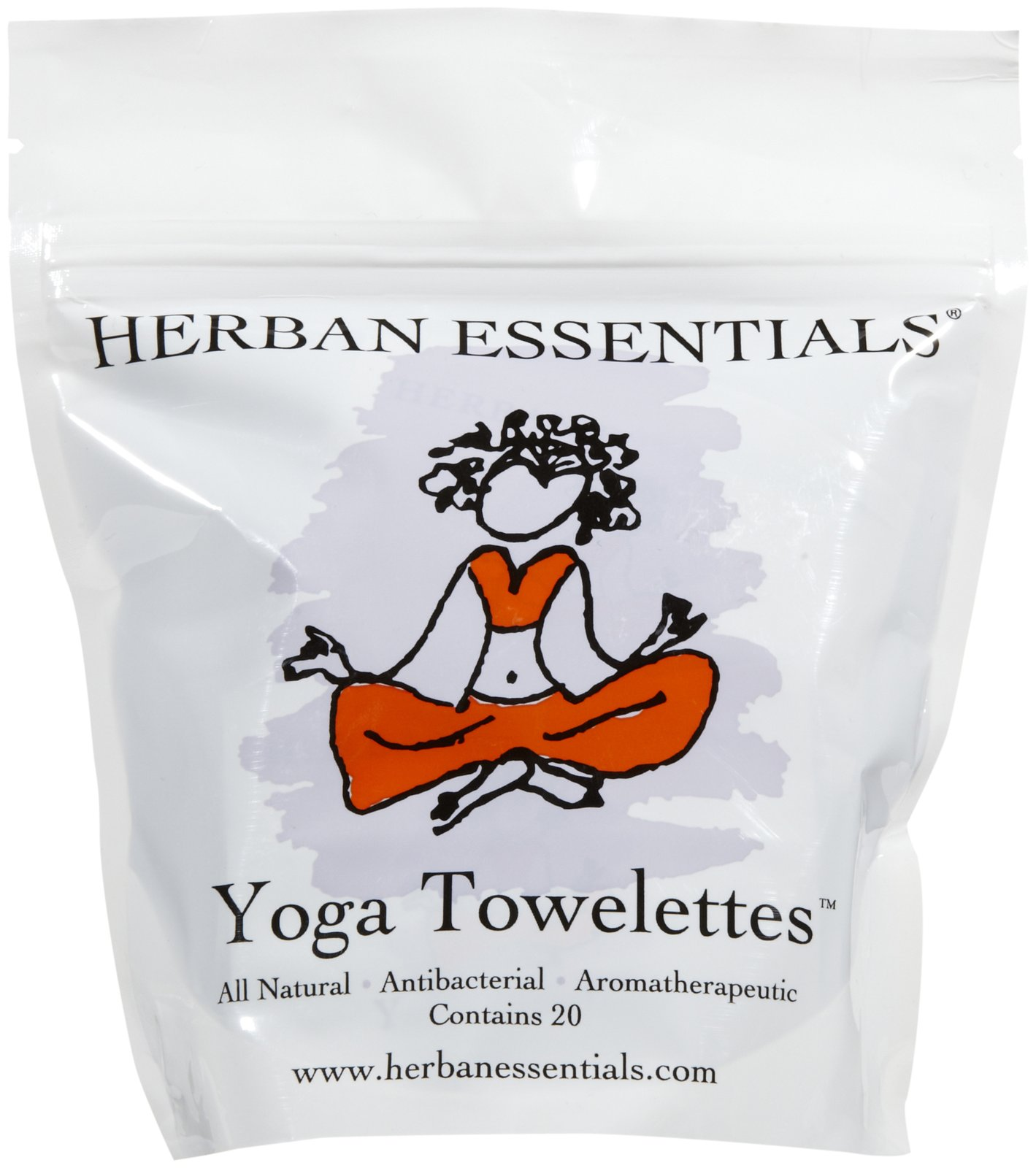 Herban Essentials Towelettes, Yoga