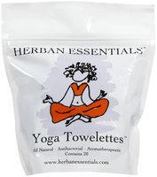 Herban Essentials Towelettes, Yoga