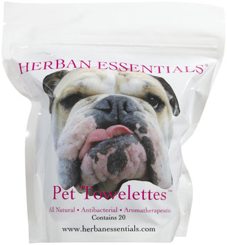 Herban Essentials Towelettes, Pet