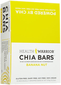 Health Warrior - Chia Bar Banana Nut - 0.88 oz.