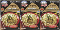 Hodgson Mill, Gluten Free Brown Rice All Natural Penne Pasta with Milled Flaxseed, 8 oz, 3 pk