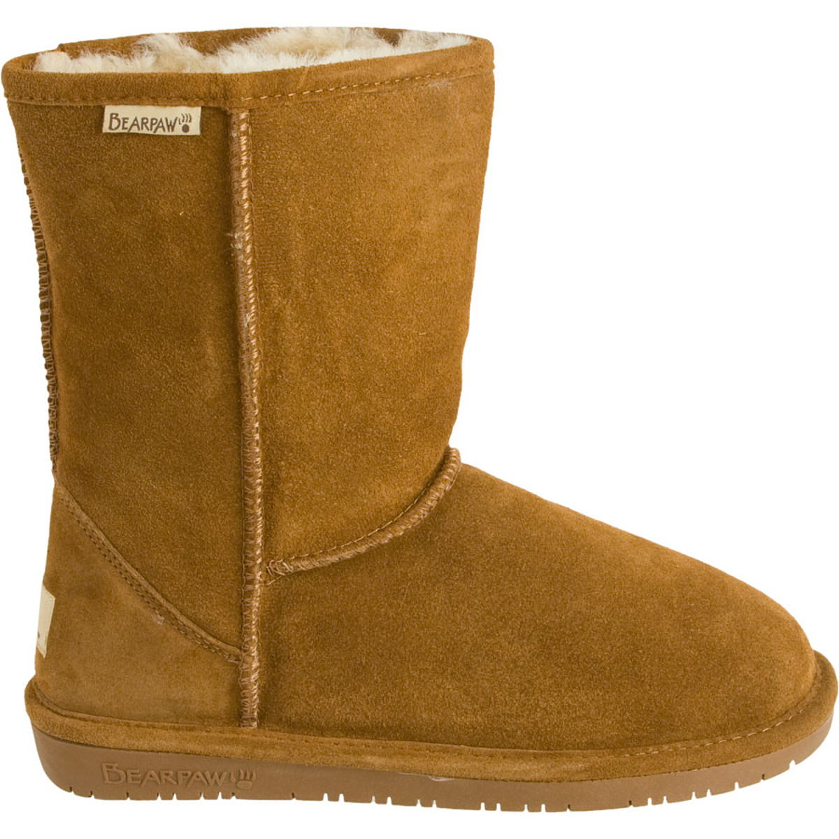 Bearpaw Emma Short Boot - Women's Hickory, 9.0