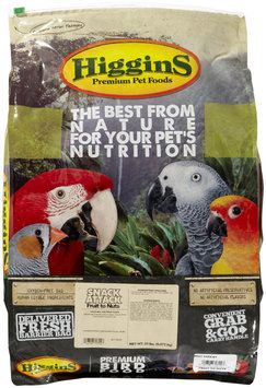 Super-dog Pet Food Company Higgins Avian Treat Fruit to Nuts Bird Food