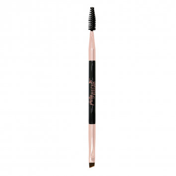 Pretty Vulgar High Standards Double-Sided Eyebrow Brush