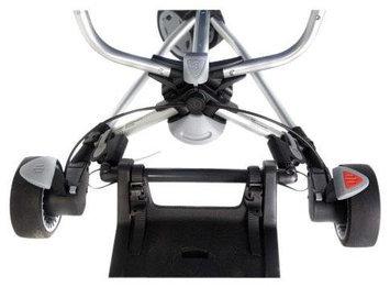 Buggypod Kleine Dreumes Kid Sit Wheel Board Adapter - Silver