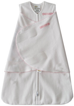 Halo Innovations Inc. Halo Innovations Newborn 100% Cotton Sleepsack Swaddle, Pink Pin Dot