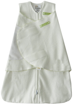 Halo Innovations Inc. Halo Innovations Newborn 100% Cotton Sleepsack Swaddle, Sage Pin Dot