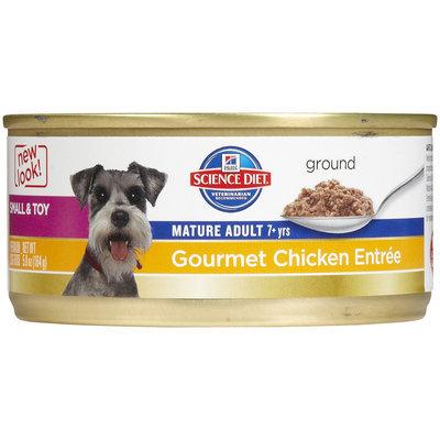 Hills Pet Nutrition Science Diet Gourmet Chicken Mature Small Dog Food