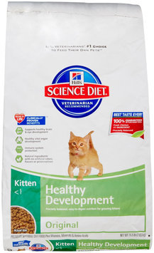 Hills Pet Nutrition Hill's Science Diet Kitten Healthy Development Original Dry Cat Food