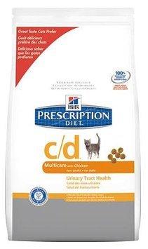 Hill's Prescription Diet c/d Multicare Feline Bladder Health Chicken Formula
