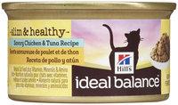 Hill's Ideal Balance Slim & Healthy - Savory Chicken & Tuna