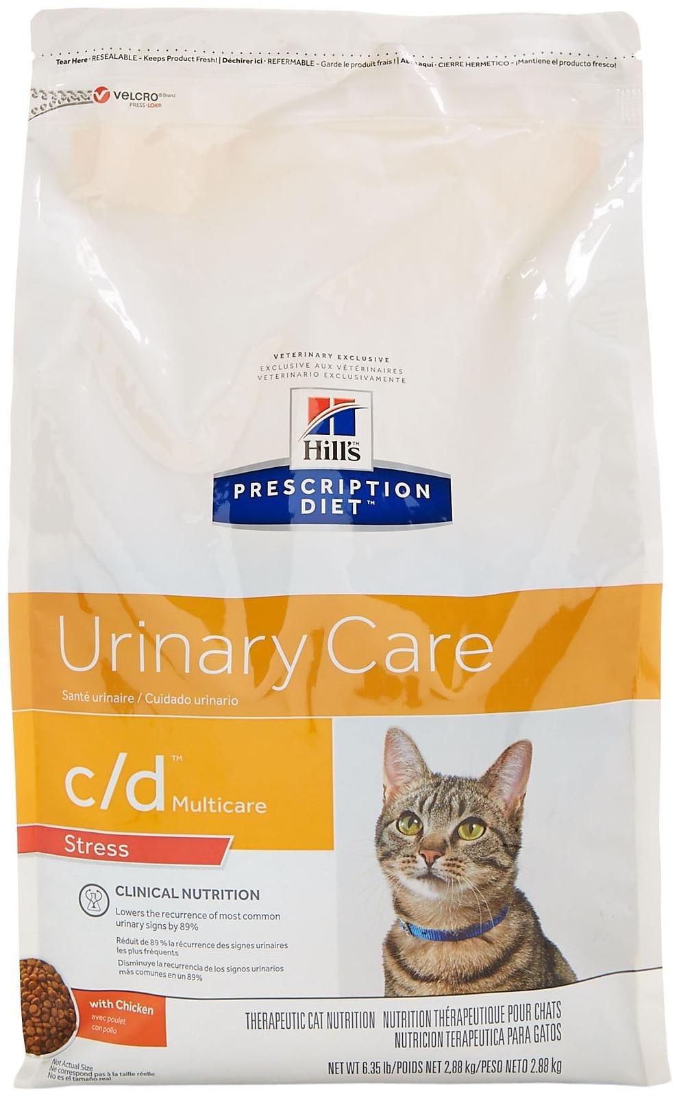 Hill's Prescription Diet c/d Multicare Feline Stress with Chicken Dry
