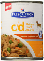 Hill's Prescription Diet c/d Canine Urinary Care Chicken and