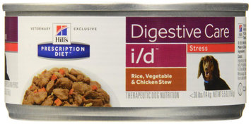 Hill's Prescription Diet i/d Canine Digestive Care Stress - Rice, Vegetable & Chicken Stew