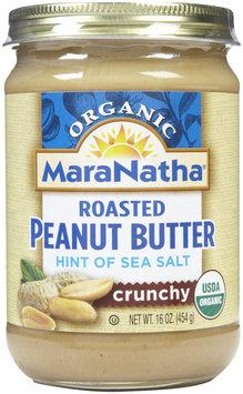 MARANATHA NATURAL FOODS Organic Crunchy Peanut Butter Salt 16 OZ