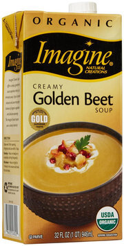 Imagine Foods Organic Soup Creamy Golden Beet 32 fl oz