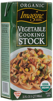 Imagine Foods Organic Cooking Stock Vegetable 32 fl oz