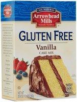 Arrowhead Mills 24820 Organic Vanilla Cake Mix Gluten Free