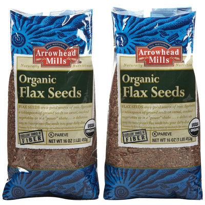 Arrowhead Mills Gluten-Free Flax Seed, 16 oz, 2 pk