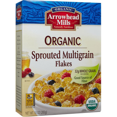 Arrowhead Mills Organic Sprouted Multigrain Flakes - 10 oz