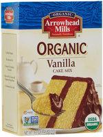 ARROWHEAD MILLS Organic Vanilla Cake Mix 18.2 OZ