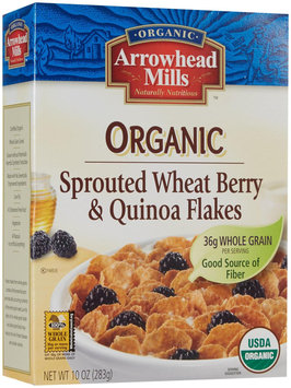 Arrowhead Mills Organic Sprouted Wheat Berry and Quinoa Flakes - 10 oz