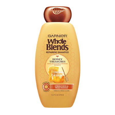 Garnier Whole Blends  Honey Treasures Repairing Shampoo