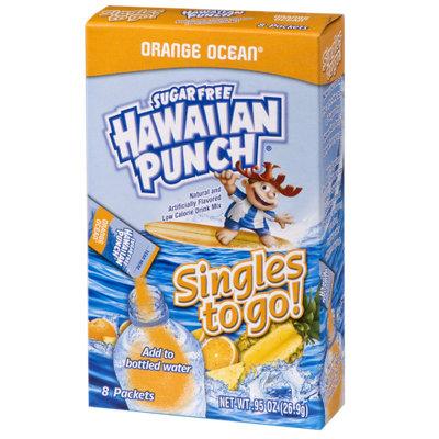 Hawaiian Punch Orange Sugar Free Drink Mix Singles to go