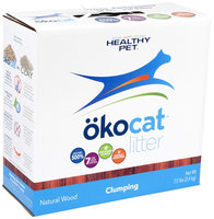 Okocat Natural Wood Litter Clumping