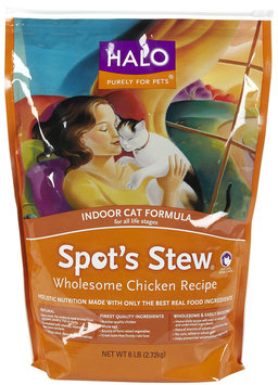 Halo Spot's Stew Indoor Cat Recipe