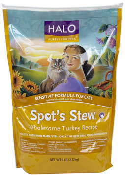 Halo Spot's Stew Sensitive Cat Recipe
