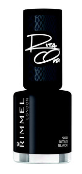 Rimmel London Shades of Black 60 Seconds Nail Polish by Rita Ora