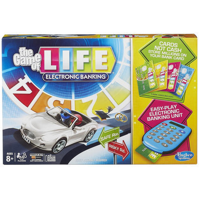 Hasbro The Game Of Life Electronic Banking Game